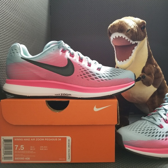 e42c68c4d5bb3 NEW Nike Women s Air Zoom Pegasus 34 Running Shoes